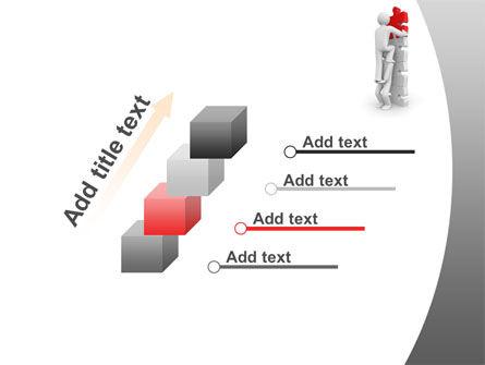 Jigsaw Ladder PowerPoint Template Slide 14