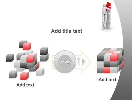Jigsaw Ladder PowerPoint Template Slide 17