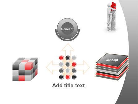 Jigsaw Ladder PowerPoint Template Slide 19