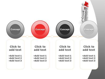 Jigsaw Ladder PowerPoint Template Slide 5