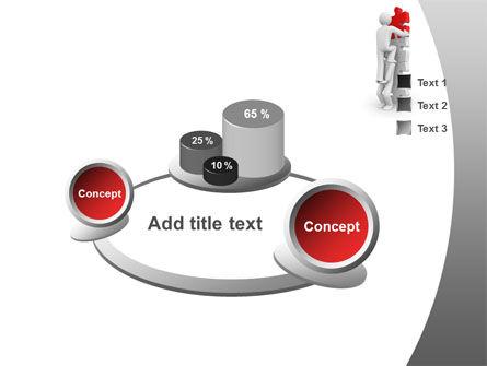 Jigsaw Ladder PowerPoint Template Slide 6