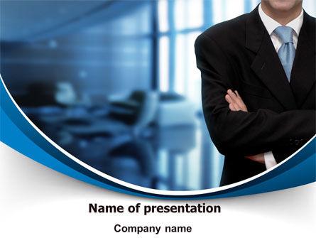 Business Style PowerPoint Template, 07645, Business — PoweredTemplate.com