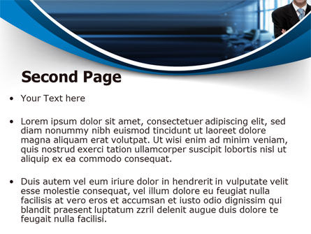 Business Style PowerPoint Template, Slide 2, 07645, Business — PoweredTemplate.com
