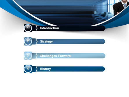 Business Style PowerPoint Template, Slide 3, 07645, Business — PoweredTemplate.com