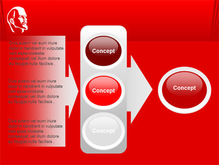 Lenin PowerPoint Template Slide 11