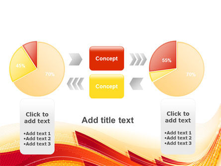 Orange Ribbons PowerPoint Template Slide 16