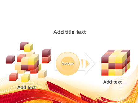 Orange Ribbons PowerPoint Template Slide 17