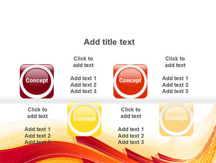 Orange Ribbons PowerPoint Template Slide 18