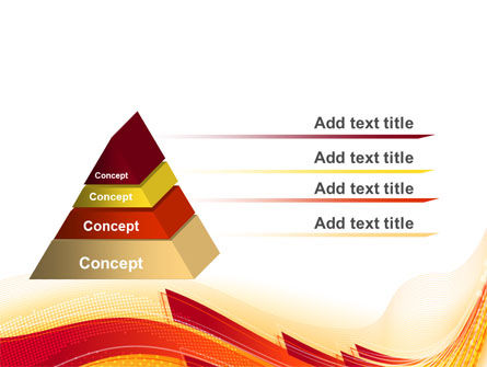 Orange Ribbons PowerPoint Template Slide 4