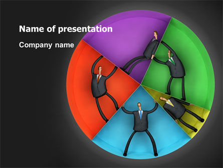 Concept Pie Chart PowerPoint Template