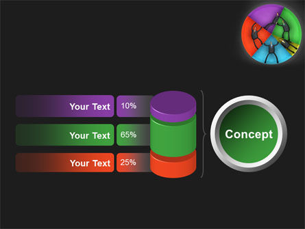 Concept Pie Chart PowerPoint Template Slide 11