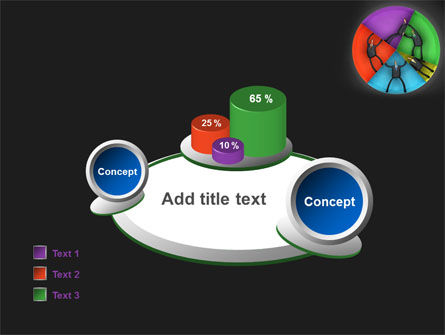Concept Pie Chart PowerPoint Template Slide 16