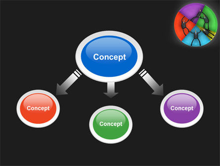 Concept Pie Chart PowerPoint Template Slide 4