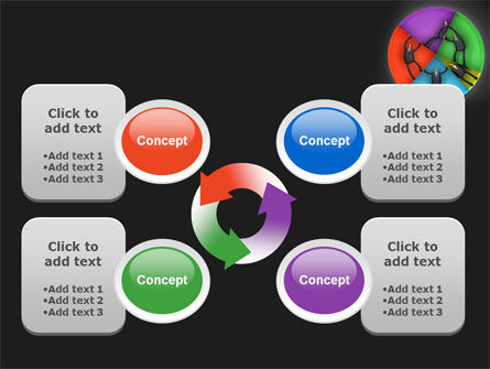 Concept Pie Chart PowerPoint Template Slide 9