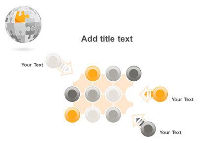 Orange Jigsaw PowerPoint Template Slide 10