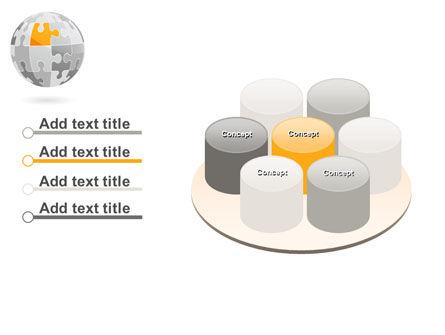 Orange Jigsaw PowerPoint Template Slide 12
