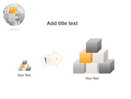 Orange Jigsaw PowerPoint Template Slide 13