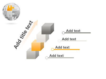 Orange Jigsaw PowerPoint Template Slide 14