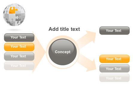 Orange Jigsaw PowerPoint Template Slide 15