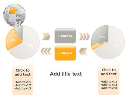Orange Jigsaw PowerPoint Template Slide 16