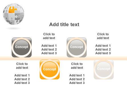 Orange Jigsaw PowerPoint Template Slide 18