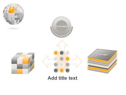 Orange Jigsaw PowerPoint Template Slide 19
