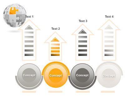 Orange Jigsaw PowerPoint Template Slide 7