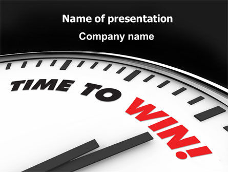 Time to Win PowerPoint Template