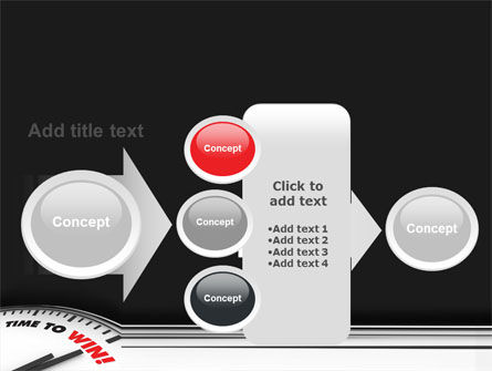 Time to Win PowerPoint Template Slide 17