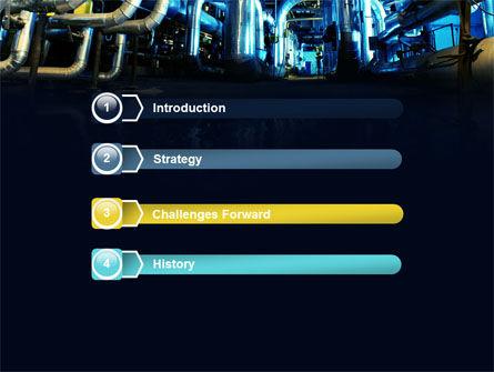 Industrial Pipelines PowerPoint Template, Slide 3, 07655, Utilities/Industrial — PoweredTemplate.com
