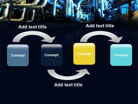 Industrial Pipelines PowerPoint Template, Slide 4, 07655, Utilities/Industrial — PoweredTemplate.com