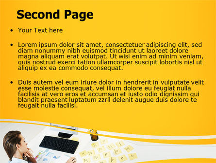 Memo PowerPoint Template Slide 2