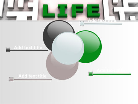 Labyrinth of Life PowerPoint Template Slide 10