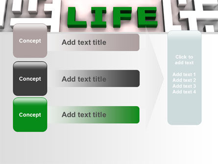 Labyrinth of Life PowerPoint Template Slide 12