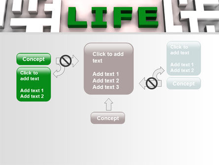 Labyrinth of Life PowerPoint Template Slide 13