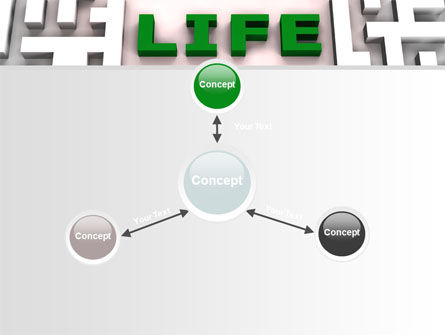 Labyrinth of Life PowerPoint Template Slide 14