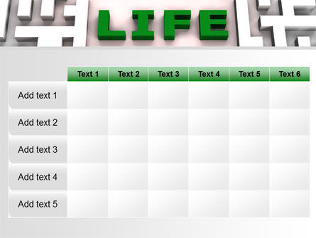 Labyrinth of Life PowerPoint Template Slide 15