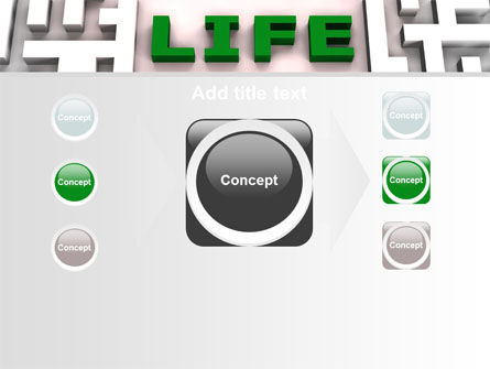 Labyrinth of Life PowerPoint Template Slide 17