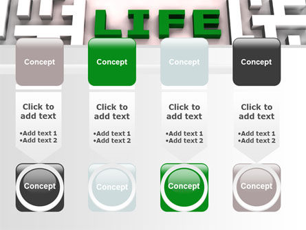 Labyrinth of Life PowerPoint Template Slide 18