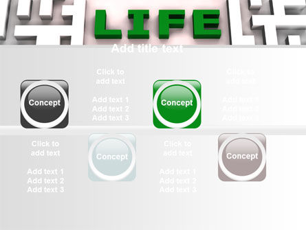 Labyrinth of Life PowerPoint Template Slide 19