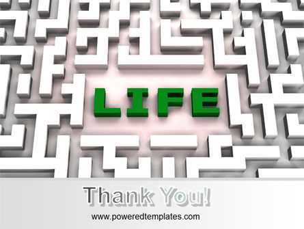 Labyrinth of Life PowerPoint Template Slide 20