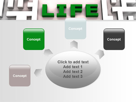 Labyrinth of Life PowerPoint Template Slide 7