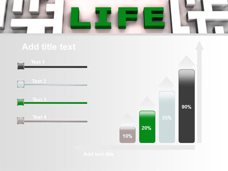 Labyrinth of Life PowerPoint Template Slide 8