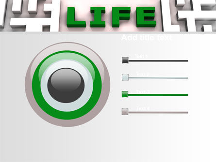 Labyrinth of Life PowerPoint Template Slide 9