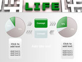 Labyrinth of Life PowerPoint Template#11