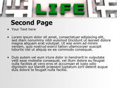 Labyrinth of Life PowerPoint Template#2