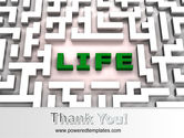Labyrinth of Life PowerPoint Template#20