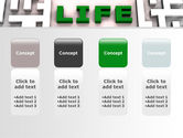 Labyrinth of Life PowerPoint Template#5