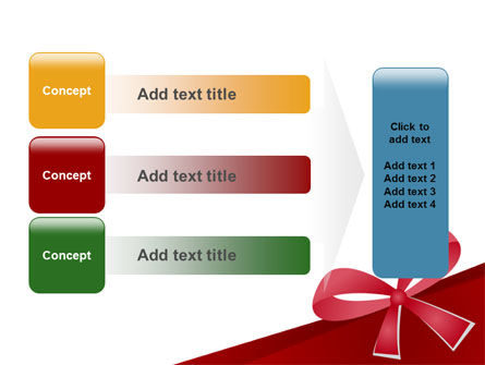 Happy Birthday Bow PowerPoint Template Slide 12
