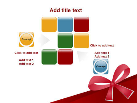 Happy Birthday Bow PowerPoint Template Slide 16
